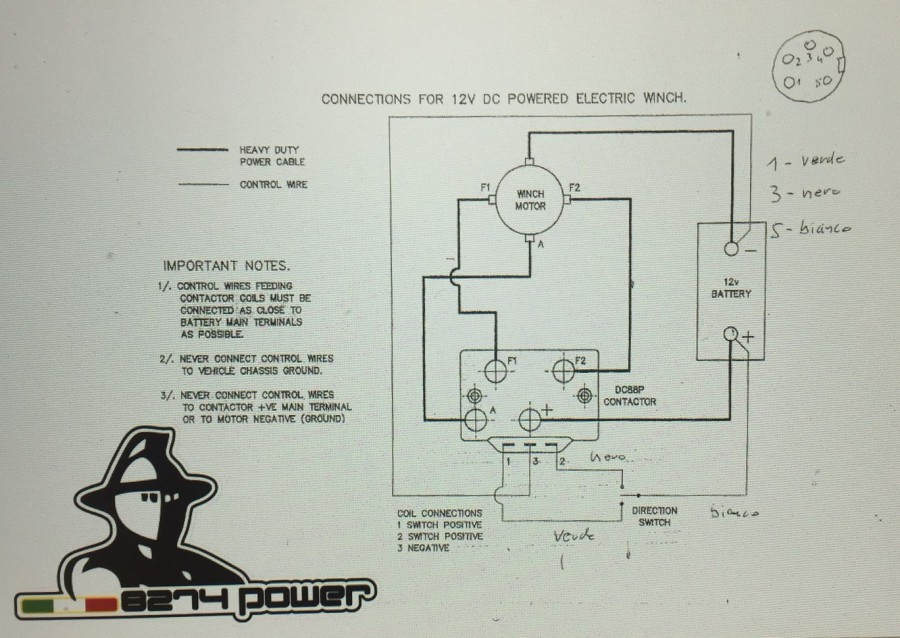 Motore, Relais, Schaltpläne, Relaishalter, Joystik, Turbo Power ...