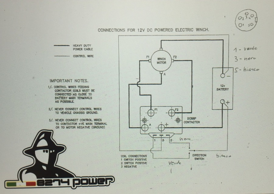 Schema Cablaggio Relè : Mb corse power motori relè schemi supp relè joystick
