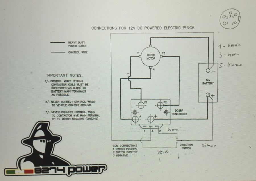 Schemi Elettrici Rele : Mb corse 8274 power motori relè schemi supp. relè joystick